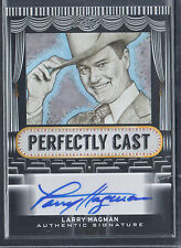 LEAF POP CENTURY 2013 AUTOGRAPH CARD #PC-LH1 LARRY HAGMAN Dallas J. R. Ewing