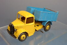 DINKY TOYS MODEL  No.410 BEDFORD END TIPPER  TRUCK  ' RARE YELLOW /BLUE VERSION'
