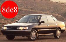 Subaru Legacy (1992) - Workshop Manual on CD
