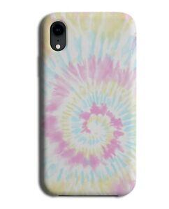 Pastel Tie Dye Print Phone Case Cover Pattern Design Style Theme Tiedye L025