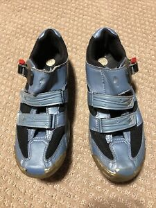 Specialized 3-strap BG Cycling Bike clip-in Women's MTB shoes Size 10 W/cleats