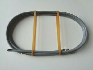 *Rare NOS Vintage 1980s Campagnolo Super Record grey brake cable housing set*