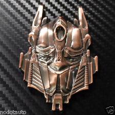 3D Car Transformers Autobot Metal Front Grill Grille Fender Hood Emblem Badge