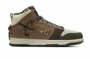 Nike Dunk High Bodega Legend Fauna Brown Size 10.5