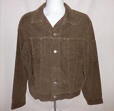 Vintage Levis SilverTab Trucker Jacket Corduroy Medium Button Front Hipster