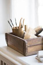 Ib Laursen Ziegelform aus Holz Unikat Aufbewahrungsbox alte Backsteinform