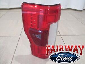 17 thru 19 Super Duty OEM Ford Tail Lamp Light LEFT DRIVER LED with Blind Spot