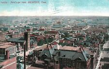 Memphis,Tennessee,Bird's Eye View,Shelby County,Used,Knoxville,1908