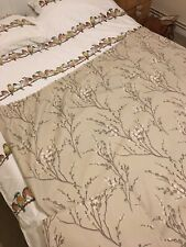 Laura ashley pussy willow natural curtains