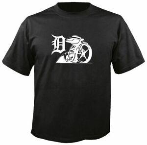 DETROIT BAGGERS T SHIRT biker bagger mc motorcycle touring harley glide