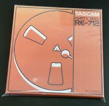 TASCAM RE-712 7-inch Metal take up empty reel to reel tape- AKAI Revox decks etc