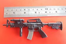 "1/6 scale U.S Army M4 rifle gun Word Peacekeeper toy weapon for 12"" inch  figure"