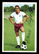 Hans Rigotti bayern munich 1967-68 Bergmann sammelbild original sign + a 102392
