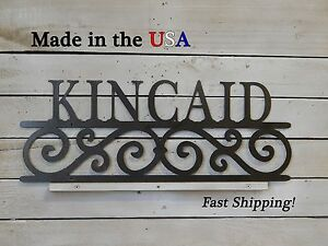 Last Name, Address Plaque, House Number, Wedding Gift, Door Sign, Entry, S1132