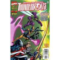 Thunderbolts (1997 series) #50 in Near Mint + condition. Marvel comics [*86]