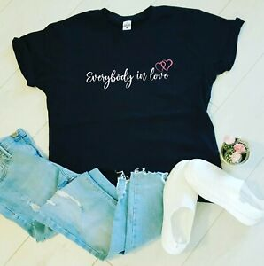 JLS Everybody In Love Women's T-Shirt Fashion 2021 Music