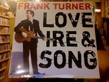Frank Turner Love Ire and Song LP sealed vinyl