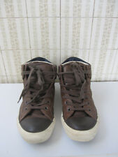 CONVERSE sneakers turnschuhe Baskets CUIR EUR 38 UK 5,5 homme ou femme