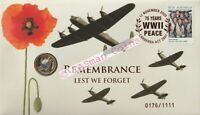 PNC Australia 2020 Remembrance Lest We Forget RAM $2 Coin Limited Edition 1111