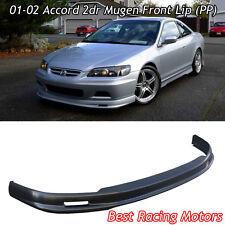 Mu-gen Style Front Bumper Lip (PP) Fits 01-02 Honda Accord 2dr