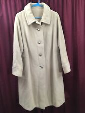 Charmossa Young Miss Of Californian Camel Hair Trench Coat Womens Jacket Size S