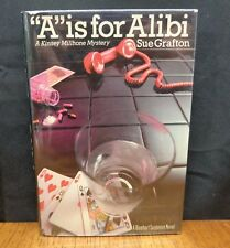 A IS FOR ALIBI By Sue Grafton First Edition in Dust Jacket