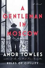 A Gentleman in Moscow: A Novel- Free Shipping