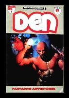 DEN #1, 1988, 1st PRINTING, RICHARD CORBEN, FULL COLOR, UNDERGROUND COMIC