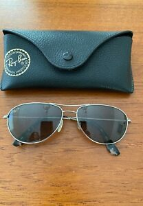 Maui Jim Baby Beach MJ-245-17 Titanium Silver / Gray Polarized Sunglasses 56 mm