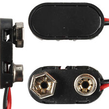 10 X Hard Shell 9v 9 Volt Pp3 la batería clip de Snap en Conector Plomo Hobby Reparación