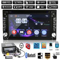 "2 Din 6.2"" Navi Car Stereo DVD MP3 GPS Player HD In Dash Bluetooth Ipod TV Radio"
