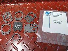 Genuine Walbro D20-WYJ Carburetor Diaphram Gasket Kit suits Walbro inc HONDA etc