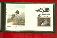 1993 DUCK STAMP First Day of Issue With Protective Folder