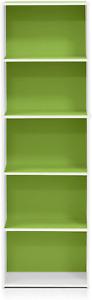 "52"" Tall Adjustable 5-Shelf Wood Bookcase Storage Shelving Book Wide Bookshelf"