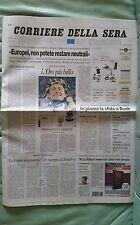 CORRIERE DELLA SERA ATENE 2004 30 AGOSTO MONTANO CHECHI CASSINA STEFANO BALDINI