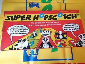 Super Hop Scotch Outdoor Garden Game  Family Vintage Giant Hopscotch PVC Mat.