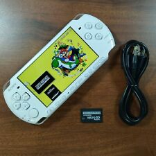 Sony PSP 3000 Pearl White 32GB   Emulators Installed CFW + Charger