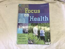 Focus on Health by Payne, Hahn, and Lucas (paperback, 2007) store#3212B