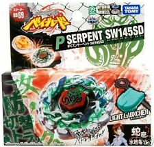 Beyblade TAKARA TOMY JAPAN METAL FUSION BB-69 Poison Serpent SW145SD+LAUNCHER