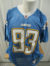 New listing VINTAGE REEBOK SAN DIEGO CHARGERS DT LUIS CASTILLO #93 LARGE NWT SIGNED JERSEY