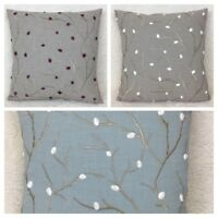 John Lewis Voyage Perry Fabric Cushion Cover Various Colours Double Sided.
