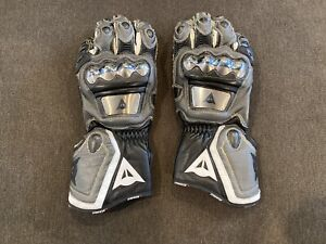 Dainese Metal Titanium GP Motorcycle Gauntlet Gloves Rare Color Size M