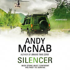 Silencer: (Nick Stone Thriller 15) by Andy McNab (CD-Audio, 2013)