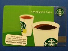 "Starbucks gift card 2012 ""🇲🇽 TEA & COFFEE 🇲🇽 MEXICO CARD. NO VALUE. NEW. HTF"