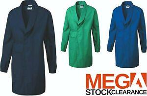 Kids Schoolwear School Lab Dress Coat Childrens Wrap-Over Science Overall