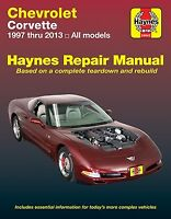 Shop Manual Corvette Service Repair Haynes Chilton  Book Chevrolet 1997-2013