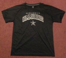 VANDERBILT COMMODORES KNIGHTS APPAREL MENS SIZE LARGE 42-44 POLYESTER T SHIRT
