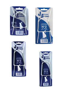 """JES Plate Hanger Wire All Sizes Available No1 No2 No3 No4 3.5""""-16""""  9cm-41cm"""