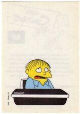 figurina THE SIMPSONS PANINI ANNO 1999 NUMERO 66 NEW