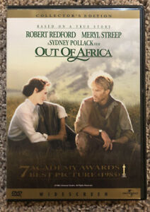 Out of Africa (DVD, 2000, Collectors Edition) Robert Redford/ Meryl Streep